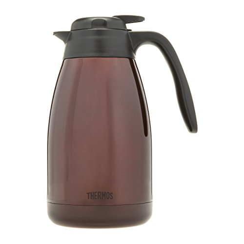 Thermos 51 Ounce Brown Vacuum Insulated Stainless Steel Carafe (Body French Press Parts compare prices)