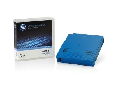 HP C7975AN LTO-5 Ultrium Non-custom Labeled Data Cartridge, 20pack, 3tb