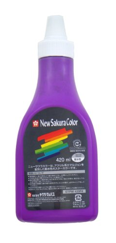 New Sakura Sakura Color color 420ml poly tube - Red Wing 420