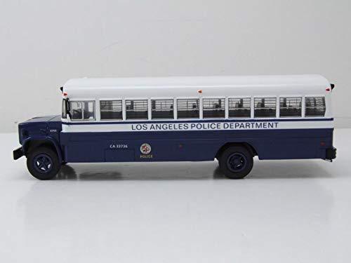 1988  1//43 IXO IXOBUS017 GMC 6000 Los Angeles Police Department
