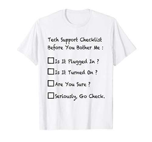 919f37822 Premium tech support t-shirts al mejor precio de Amazon en SaveMoney.es