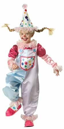 Cutie Costumes Child Clown (Cutie Clown Child Costume -)