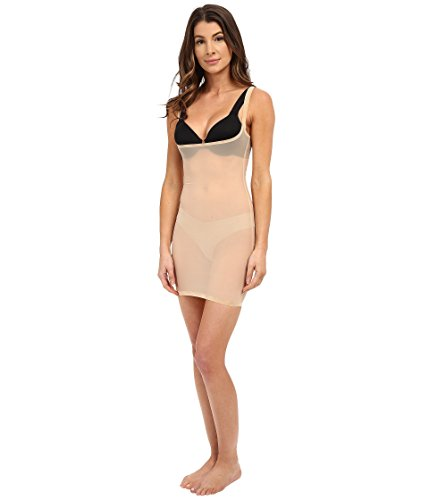 Wolford Dresses - Wolford Women's Tulle Forming Dress Nude 46