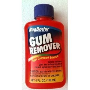 Rug Doctor GUM REMOVER Spot Treatment Solution 4 oz. CARPET & UPHOLSTERY Cleaner (Pack of 3)