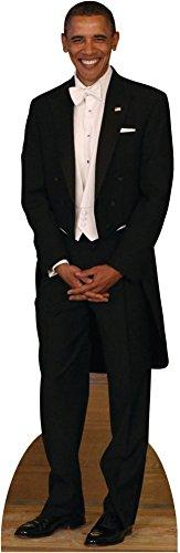 President Obama Lifesize Standup Cardboard Cutouts 75 x 24in