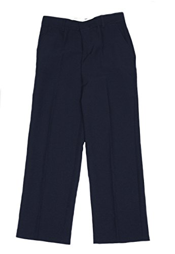 IZOD Big Boys Suit Jacket Blazer 4 Pc Set with Shirt Tie and Pants (Navy, 12) by IZOD (Image #2)