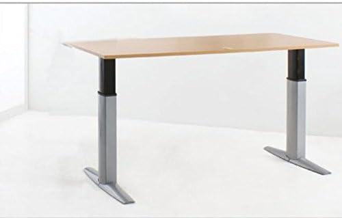 Mesa de escritorio ajustable eléctricamente con 200 x 80 cm color ...