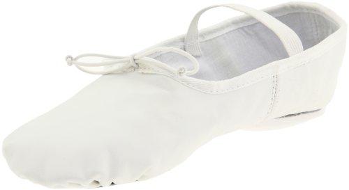 dividida B502 mujer suela para con cuero Class de blanco Dance Zapatilla ballet de wq1xAgW4Y