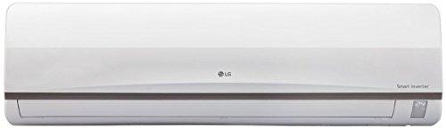 LG 1.0 Ton 3 Star Inverter Split AC (Copper, JS-Q12CPXD1, White)