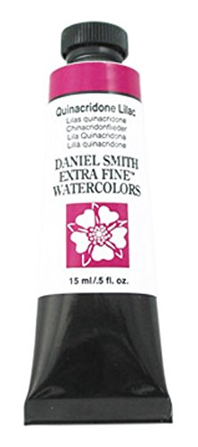 DANIEL SMITH 284600236DANIEL Smith Extra Fine Watercolor 15ml Paint Tube, Quinacridone Lilac