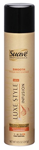 Suave Professionals Luxe Styling Anti Humidity Hairspray, 8.