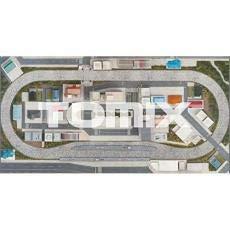 TOMIX Nゲージ パノラママット タウン 8192 鉄道模型用品:925 B07T1TB6RB