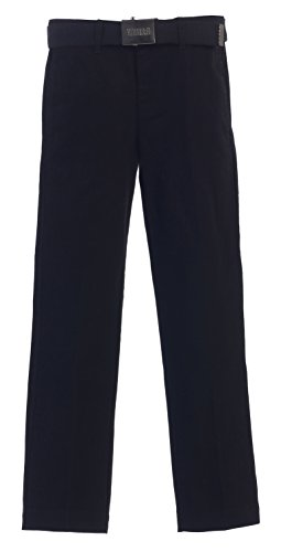 Gioberti Belted Front Twill Pants