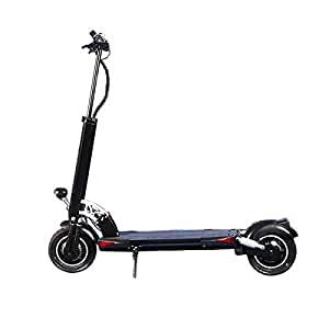 XINAO NANROBOT D5+High Speed Electric Scooter -Portable Folding, 40 MPH and 50Miles Range of Riding, 2000W Motor Power and 330lb Load (Black2.0)
