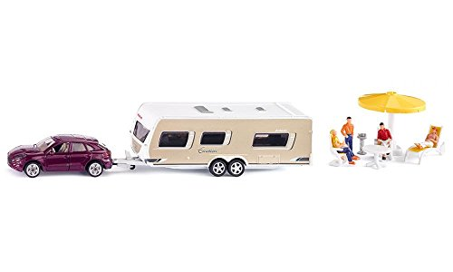 Siku Car with Caravan #2542