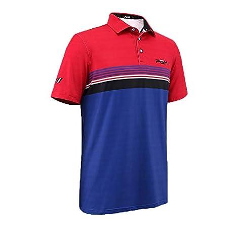 HWTP 2018 Camiseta de Entrenamiento de Golf para Hombre Camiseta ...