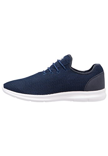 YOURTURN Slip on Sneaker Herren in Schwarz, Blau, Rot oder Oliv Grün