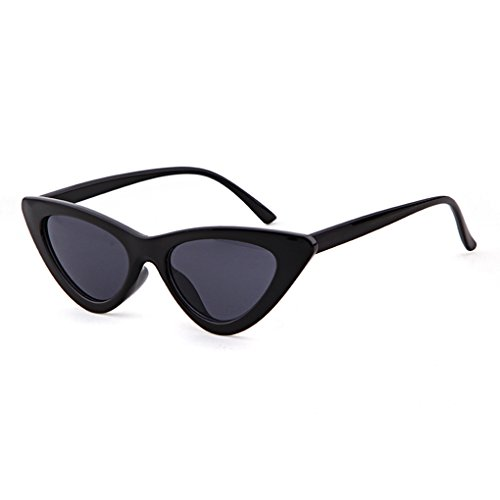Retro Vintage Cat Eye Sunglasses for Women Clout Goggles Plastic Frame Kurt Cobain Glasses