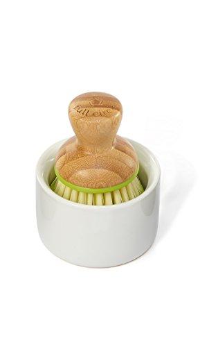 full-circle-bubble-up-ceramic-soap-dispenser-dish-brush-set-white