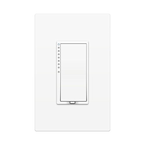 Insteon SwitchLinc High Wattage Dimmer, Dual-Party, Remote Control, White, Works with Amazon Alexa