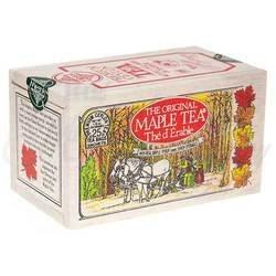The Metropolitan Tea Company 62WD-618B-041 Maple 25 Teabags in Wood Box (Canada Maple Tea)