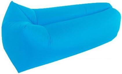 Tumbona saco de dormir, resistente al agua playa tumbona hinchable Air sofá sofá cama piscina flotador inflable para Camping ocio playa piscinas pesca, ...