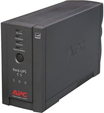 Schneider Electric BK500BLK 6 Outlets UPS44; Black