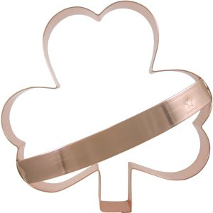 CopperGifts: Giant Shamrock Cookie Cutter with Handle