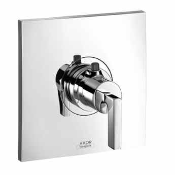 Axor 39711001 Citterio Thermostatic Trim with Lever Handle in Chrome Hansgrohe