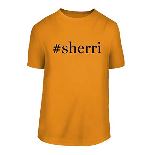 - #Sherri - A Hashtag Nice Men's Short Sleeve T-Shirt Shirt, Gold, Large