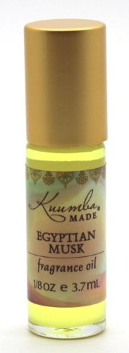 Kuumba Made Egyptian Musk Fragrance Oil Roll-On .125 Oz / 3.7 ml (1-Unit)