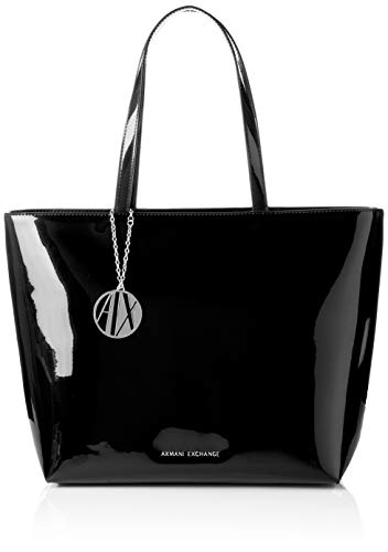 A|X Armani Exchange Zip Top Tote Bag, ()