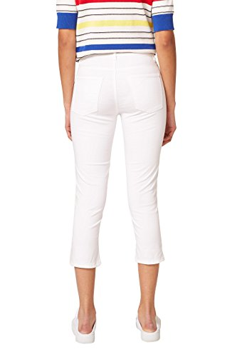 Esprit 100 Donna Bianco white Pantaloni RqwRvr4