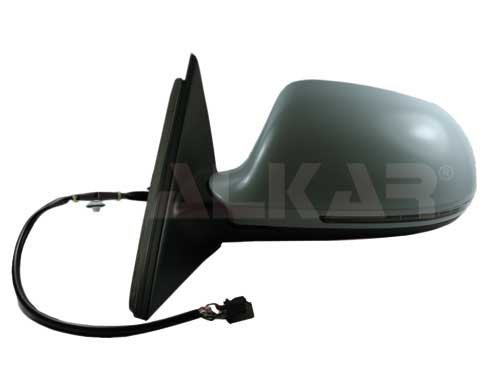 Alkar 6139795 Outside Complete Electric Heated Primed Aspherical Mirror with Blinker