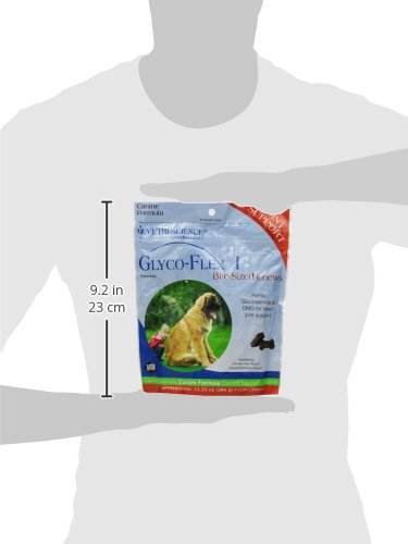 VetriScience Laboratories GlycoFlex 1, Hip and Joint Supplement for Dogs, 120 Bite Sized Chews by VetriScience Laboratories (Image #4)