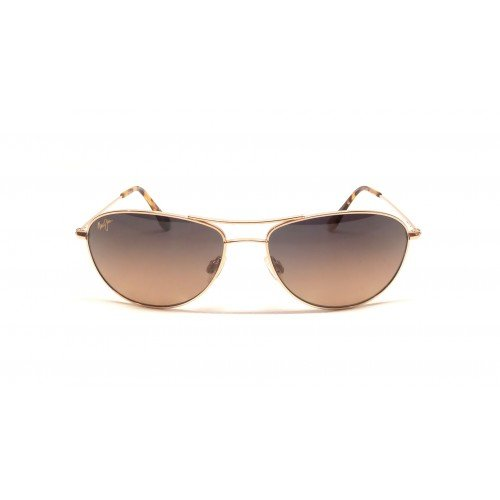 Maui Jim Baby Beach Sunglasses Gold/ HCL Bronze Unisex Adult One - Baby Maui Jim