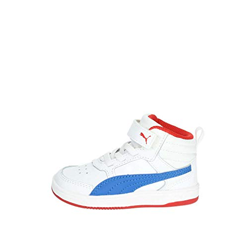 Puma 363915 Sneakers Garçon Haute Blanc 07 OrgSO