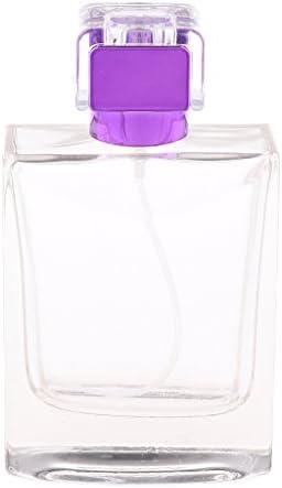 IPOTCH Parfum Fles Leeg Hervulbaar100mlPaars 1267cm