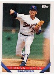1993 Topps Nolan Ryan Baseball Card #700 Nolan Ryan