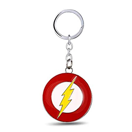 Mct12 - MOSU Superhero The Flash Key Chain Lightning Logo ...