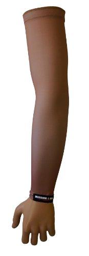 Missing Link SPF 50 Skin 3 ArmPro Compression Sleeve (Beige, Medium)