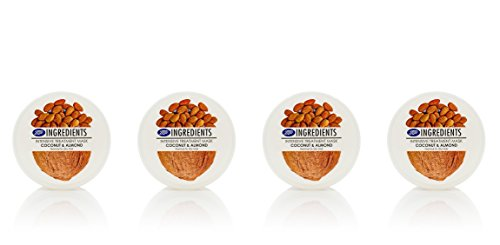Boots Ingredients Intensive Treatment Mask Coconut & Almond 400 ml. (Pack of 4) by Boots Ingredients