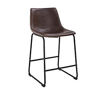 WE Furniture AZHL26BR Dining Chairs 26 Brown