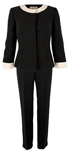 Tahari Women's 2-Piece Alex Pant Suit-NC-6