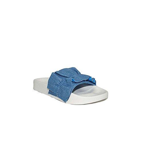 Buonarotti Chancla Bellisima Jean 1AD-17356M Azul