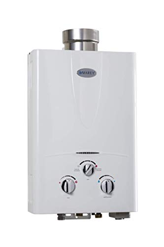 Marey Power Gas 5L 1.3GPM Propane Gas Tankless Water Heater ()