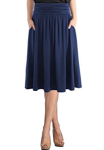 百褶高腰半身裙,让你显瘦又迷人