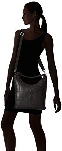 Sansibar Sansibar - bolsa de medio lado Mujer Negro