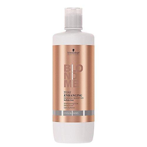 Schwarzkopf Professional BlondMe Cool Blondes Tone Enhancing Bonding Shampoo 1 litre Tone Color Enhancing Shampoo