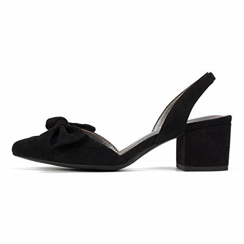 Seven HARR Heel Dials Shoes Black Women's xxZzwfnp